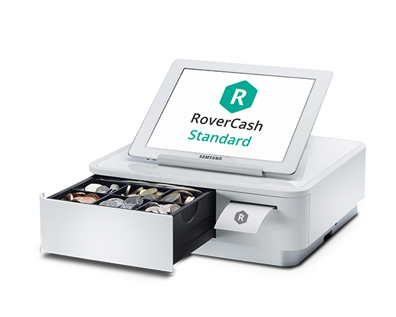 The equipment and the RoverCash software are adapted for all businesses.